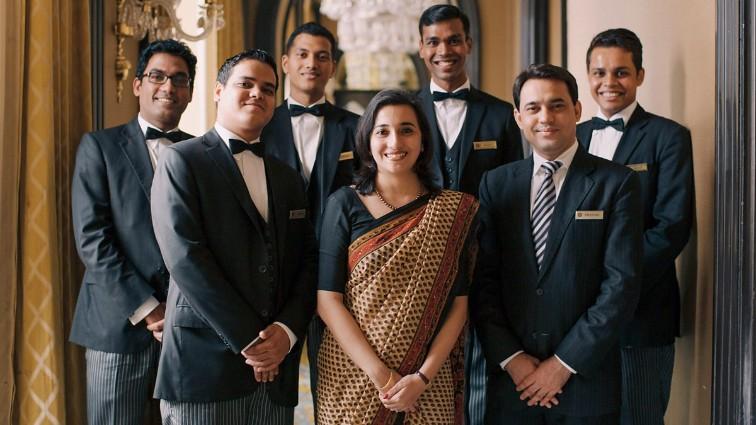 Indian Hotels Company, IHC, har over 33.000 medarbejdere på sine mere end 150 hoteller i 12 lande. PR-foto.