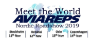 11 – 14 November 2019 – Meet the World – AVIAREPS Nordic Roadshow 2019