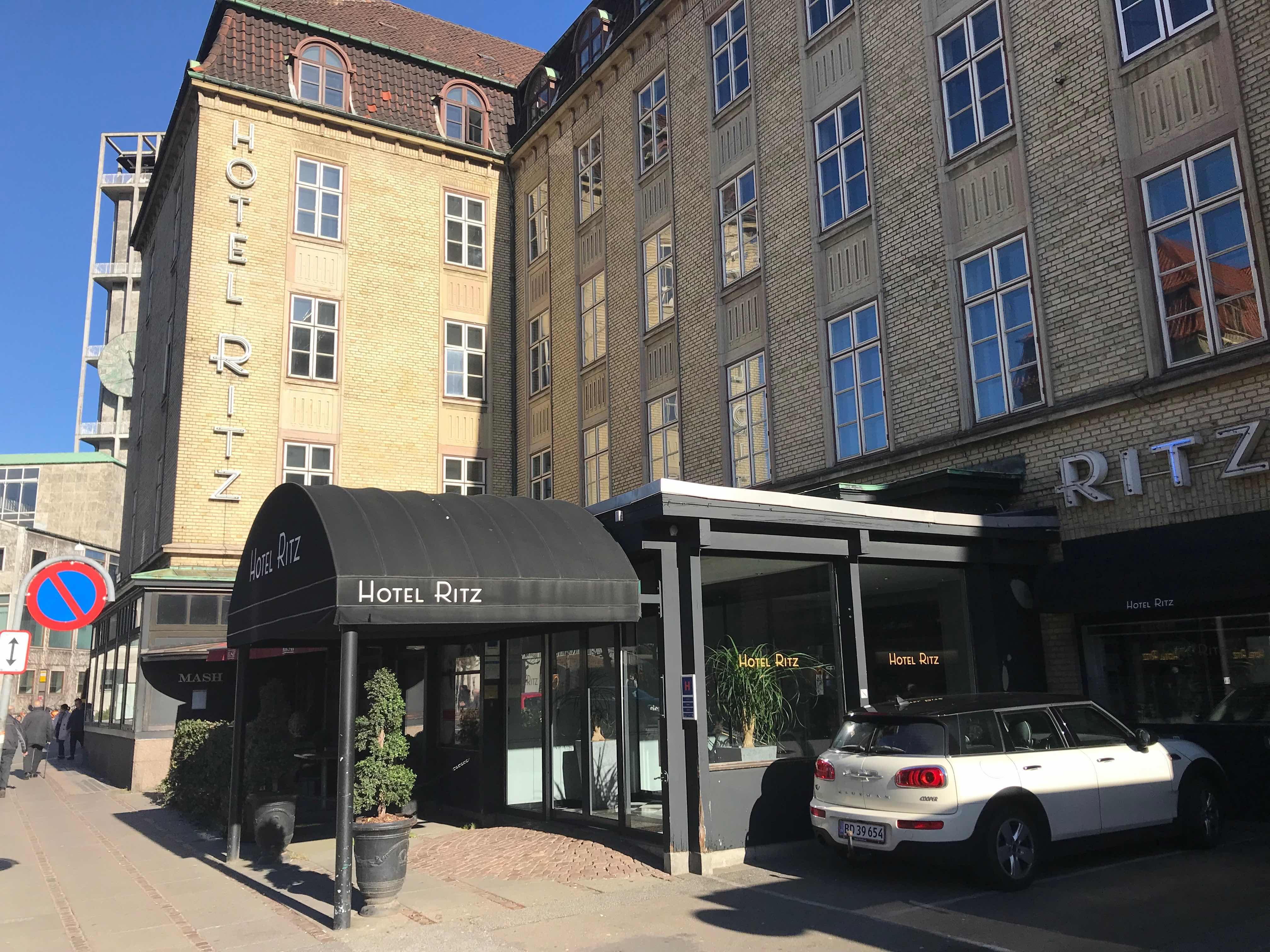 Ritz Hotel i Aarhus bliver nu en del af Milling Hotels. Pressefoto.