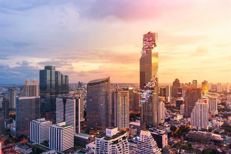 Et af Accors nyeste hoteller er Oriental Express King Power Mahanakhon i Bangkok. Foto: Accor.