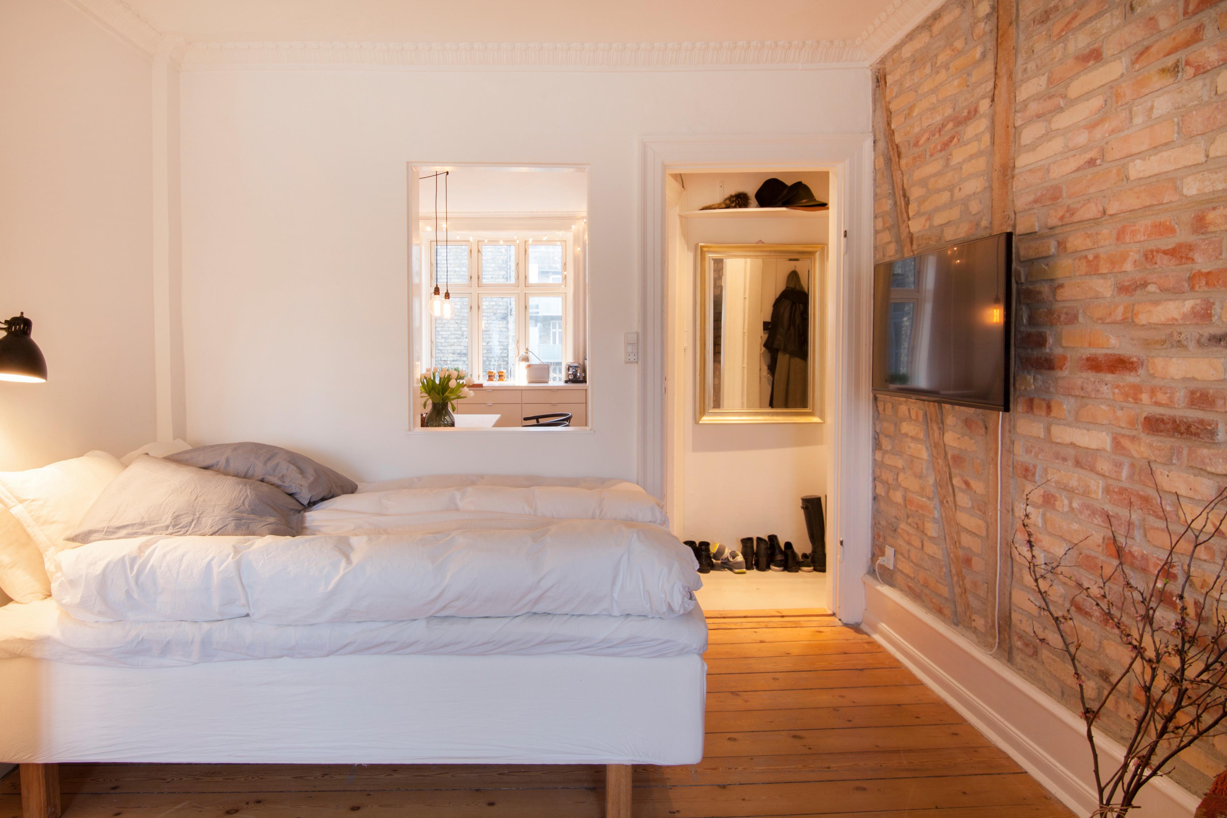 En lejlighed ved søerne i København til udlejning gennem Airbnb – pressefoto.