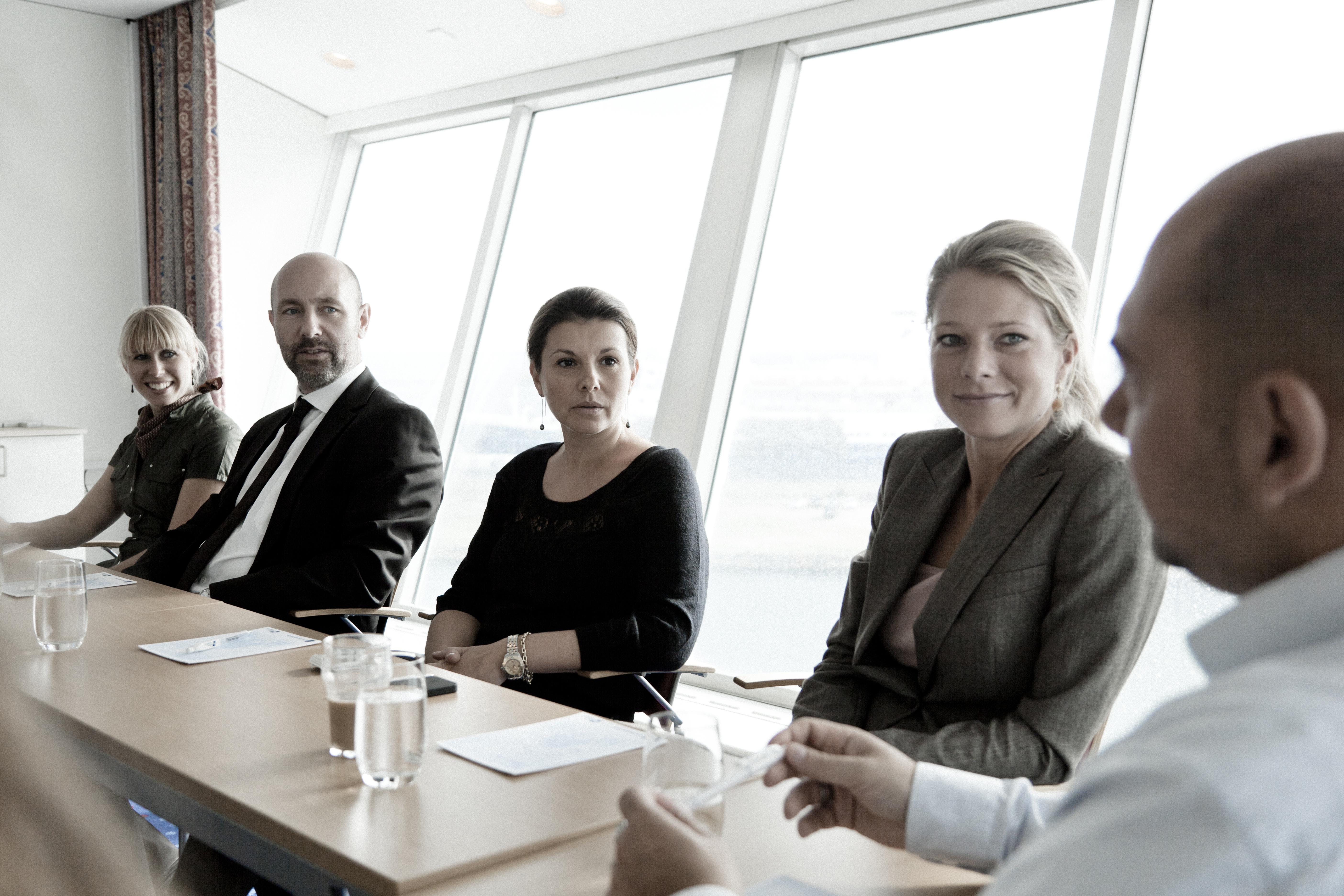 På årsplan har Pearl og Crown Seaways på DFDS' passagermæssigt største rute med overnatning omkring 775.000 rejsende mellem København og Oslo. Heraf sejler over 50.000 i forbindelser med møder og konferencer – det tal vil rederiet gerne øge. Foto: DFDS.