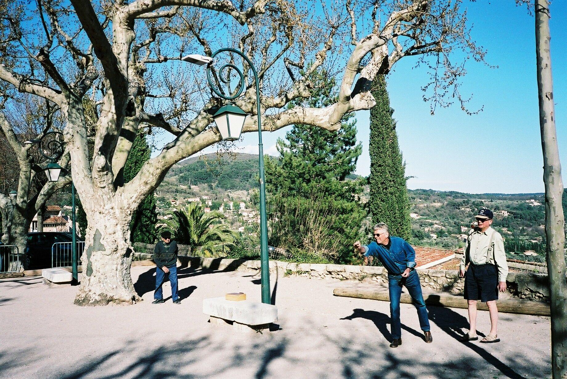 Hygge i det sydlige Frankrig. Foto: Henrik Baumgarten.