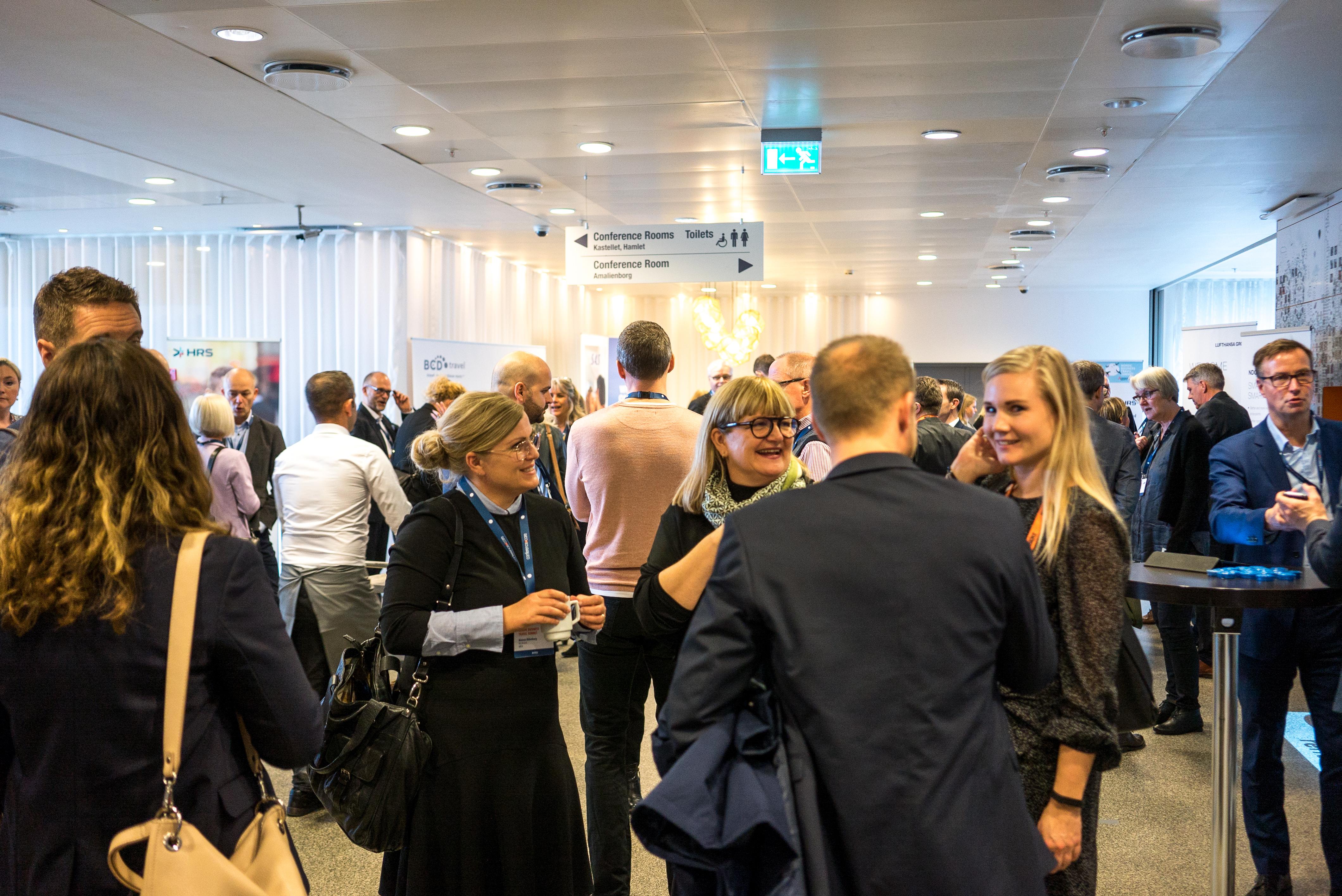 DBTA og COTRA fusionerer og skaber dermed danske største netværksforening for travel managers og deres leverandører. Her foto fra sidste måned, hvor DBTA i København var vært det årlige Nordic Business Travel Summit med deltagelse af de nordiske travel manager-foreninger og deres leverandører. Foto: Danish Business Travel Association.