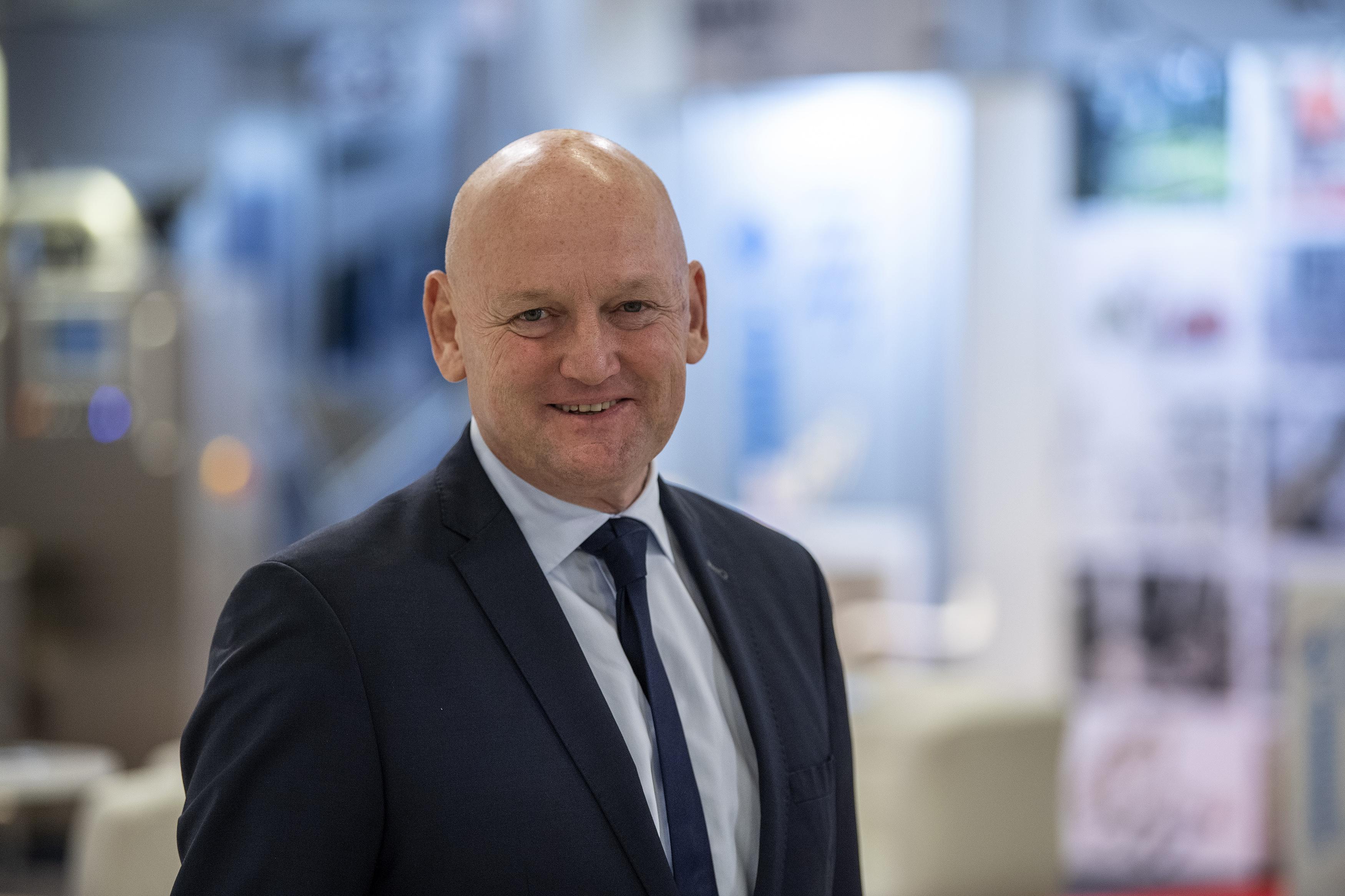 Georg Sørensen, adm. direktør for MCH (Foto: Lars Møller)