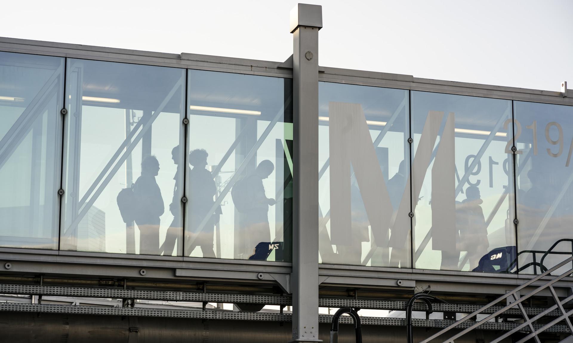 Mens travel managers i international undersøgelse sidste efterår generelt forudså deres køb af forretningsrejser ville stige op til ti procent i år, viser ny undersøgelse, at forventningen nu er faldet til op til fem procent. Pressearkivfoto fra lufthavnen i München.
