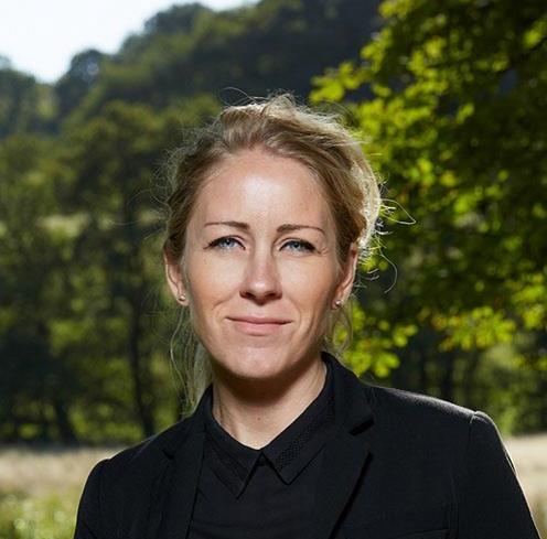 Mille Schlippe Olsson er ny salgschef for Sinatur Hotel & Konference, der ejes af Danmarks Lærerforening. Foto: Sinatur.