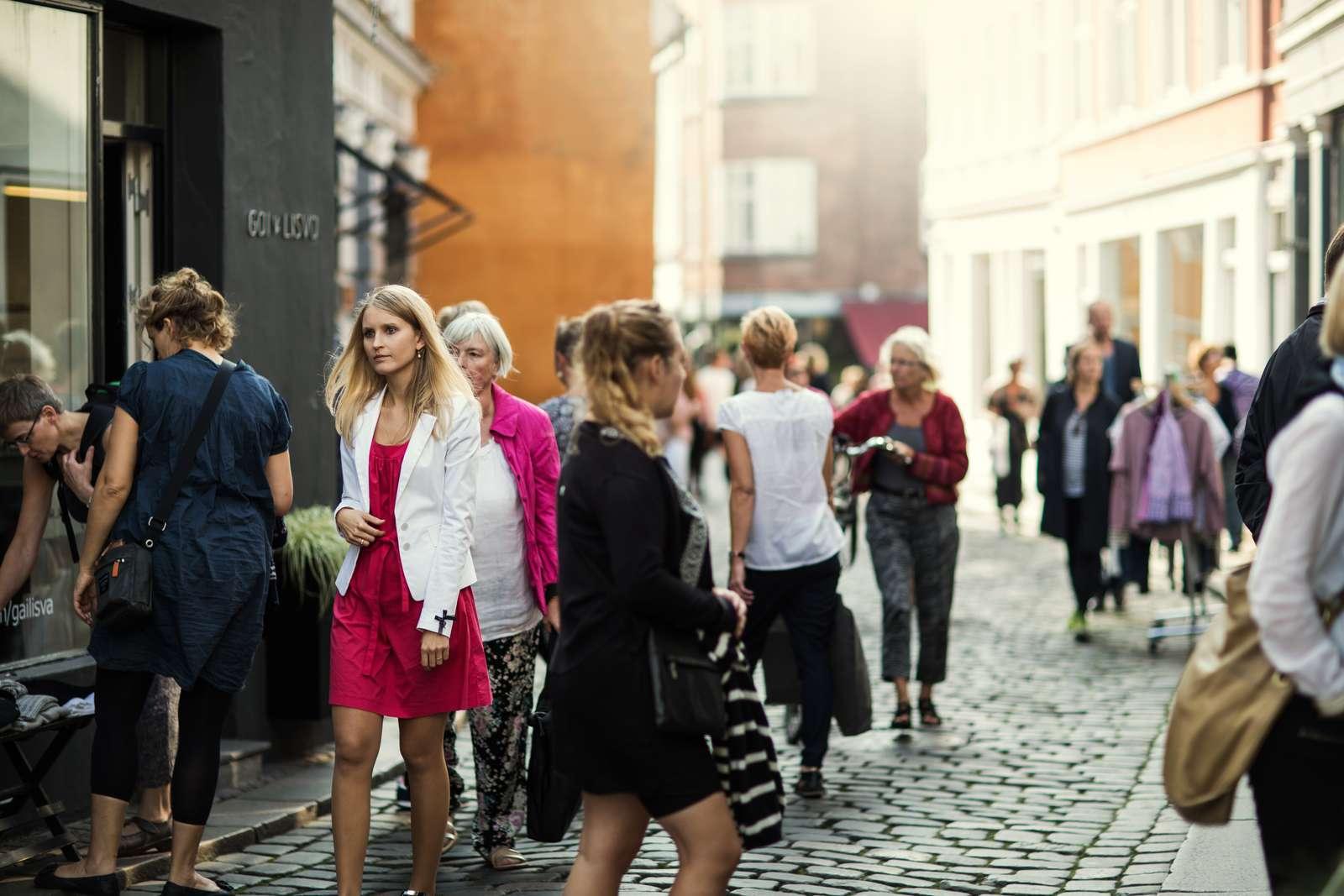 CNN fremhæver blandt andet Latinkvarteret i det centrale Aarhus i sin store omtale af byen. Foto: VisitAarhus.