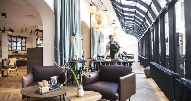 Københavnske Arthur Hotels havde et godt 2018; på udgiftssiden blev der brugt mange penge på at udvidede de to nabohotellers morgenmadsrestaurant. Pressefoto.