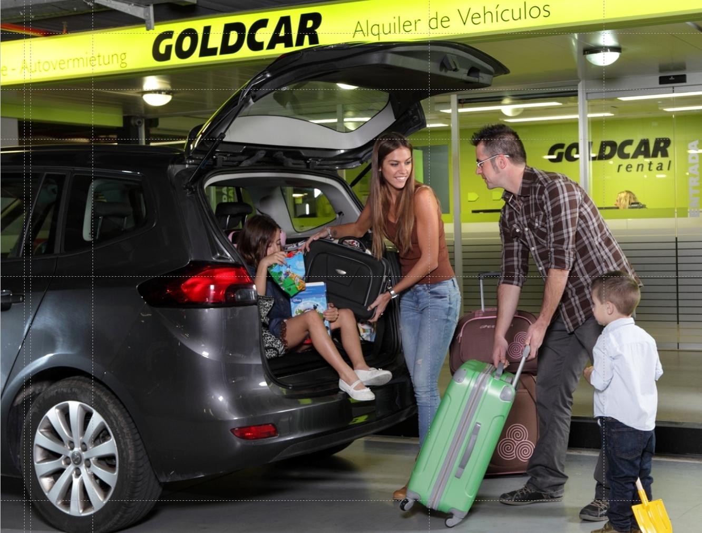 Spanske Goldcar kommer igen sidst i årlig undersøgelse af kvaliteten hos store regionale biludlejere i Europa. Pressefoto: Goldcar.