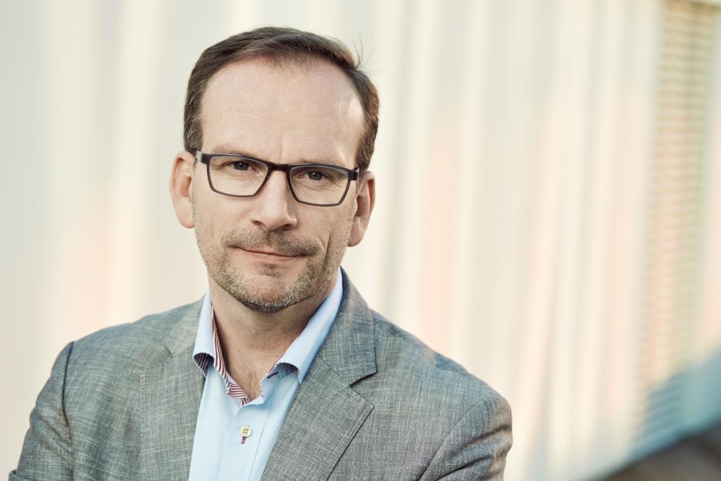 Peer H. Kristensen, adm. direktør i Aarhus Lufthavn. (Foto: Anne Kring)