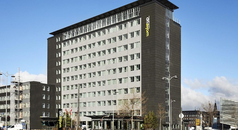 Arp-Hansen har foreløbig 13 hoteller i primært København. Kædens nyeste er dette Wakeup i København som samtidig er kædens tredje Wakeup-hotel i København – der er ligeledes et i Aarhus. Arkivfoto.
