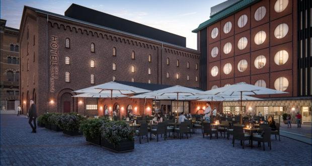 Det imponerende Hotel Ottilia i Carlsberg Byen ved København åbnede i januar i år med 155 værelser – som hidtil største hotel i danskejede Brøchner Hotels. Pressefoto.