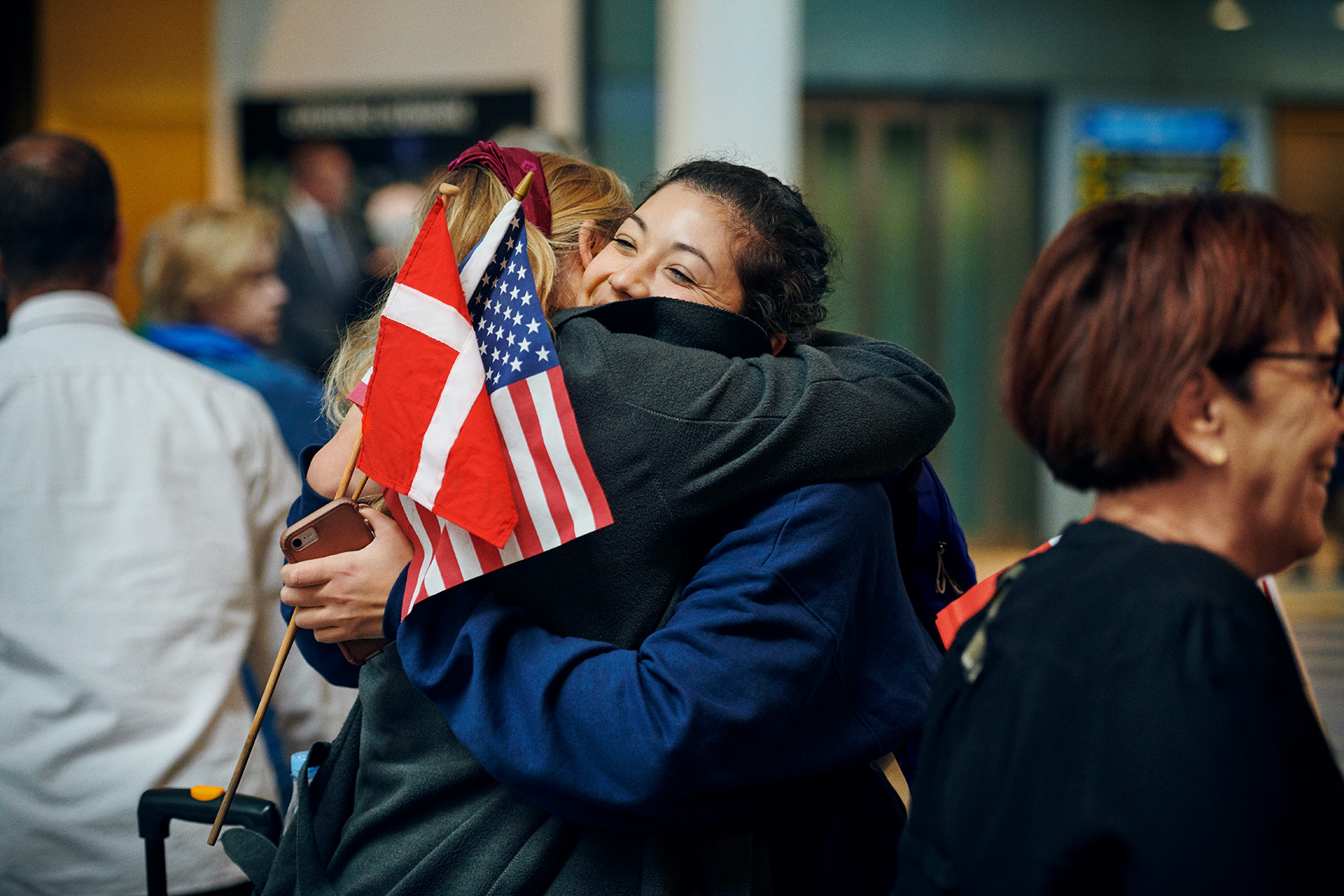 Norden er den region i Europa hvor flest borgere i snit årligt rejser til USA – kun Storbritannien sender flere. Arkivfoto: SAS.