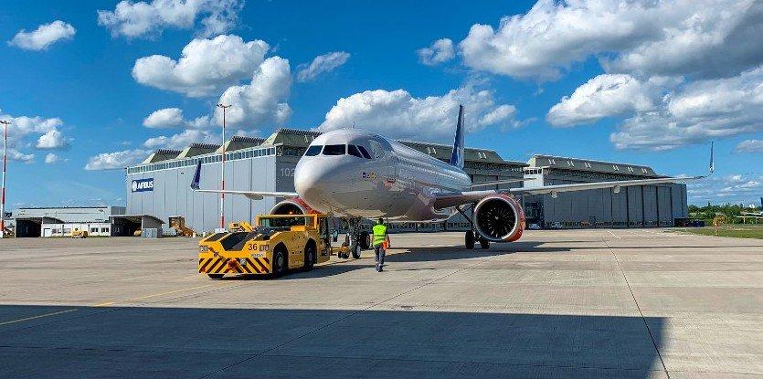 SAS kunne i onsdags modtage sin Airbus A320neo nummer 25. Foto: SAS