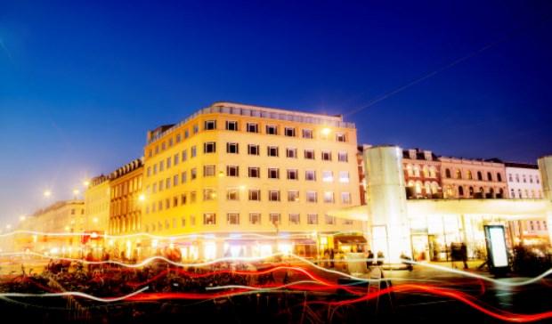 Scandics kommende hotel ved Nørreport i København. (Foto: Scandic Hotels)