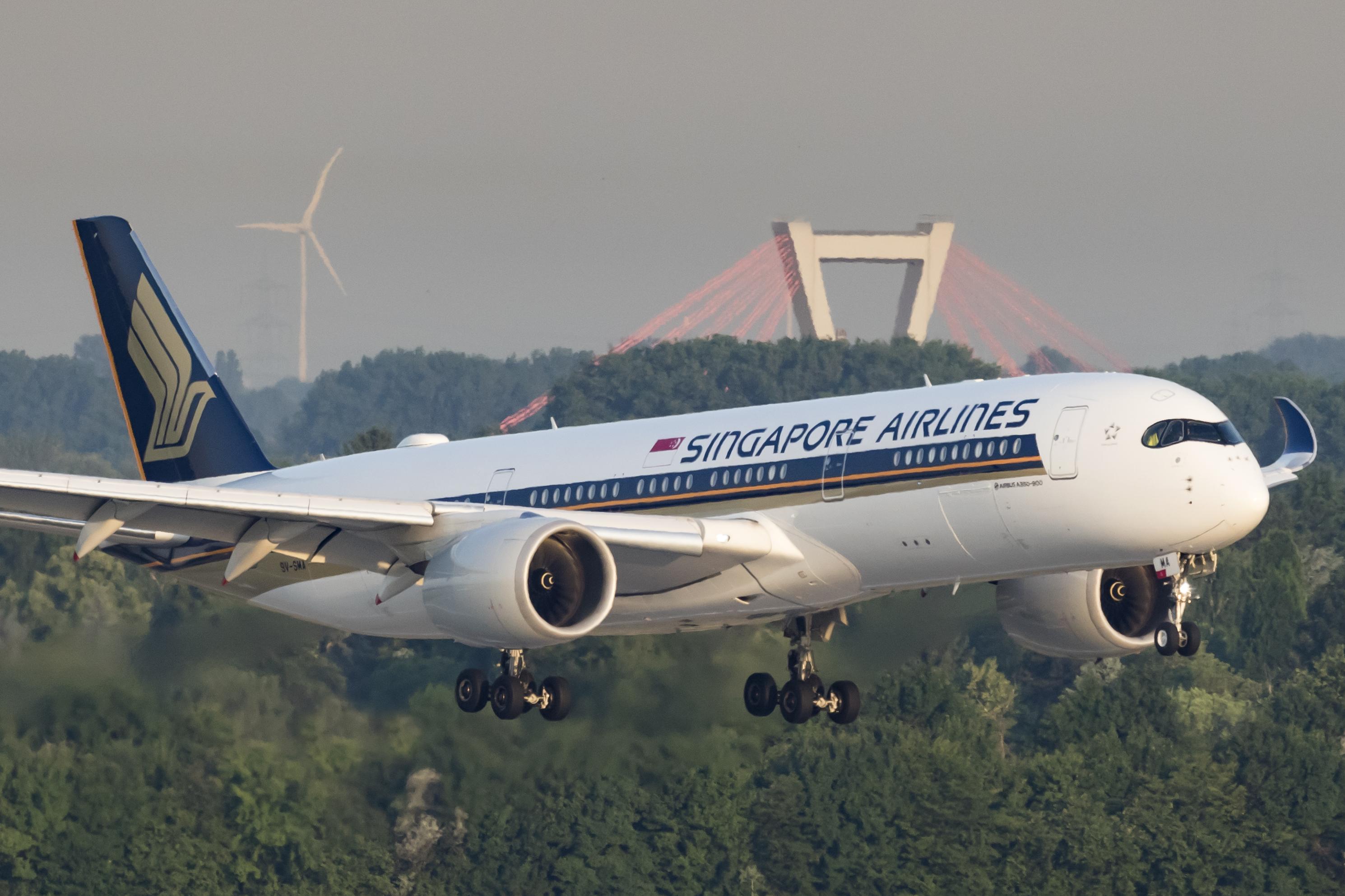 Singapore Airlines erstatter fra vinterprogrammet betjeningen af Københavns Lufthavn fra de nuværende Boeing B777-300 til de mere moderne Airbus A350-900, billedet. (Arkivfoto: © Thorbjørn Brunander Sund, Danish Aviation Photo)