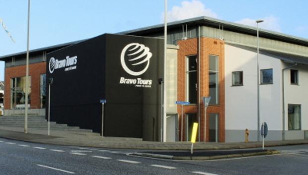 Bravo Tours, Danmarks fjerdestørste charterrejsebureau, har hovedkontor i Bethaniagade i Herning (Foto: Bravo Tours)