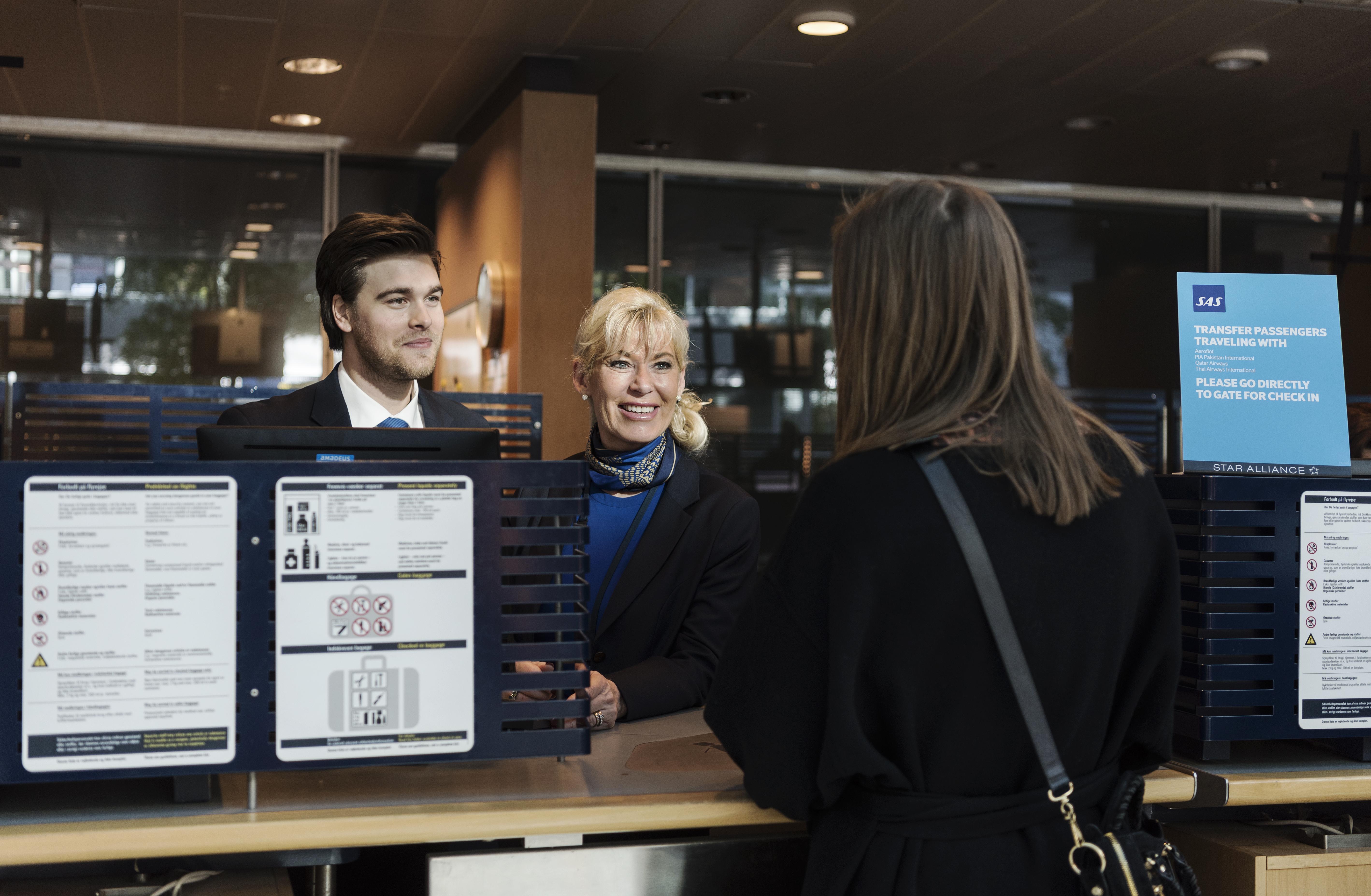 SAS udvider åbningstiderne for kundeservice hen over sommeren. Foto: SAS