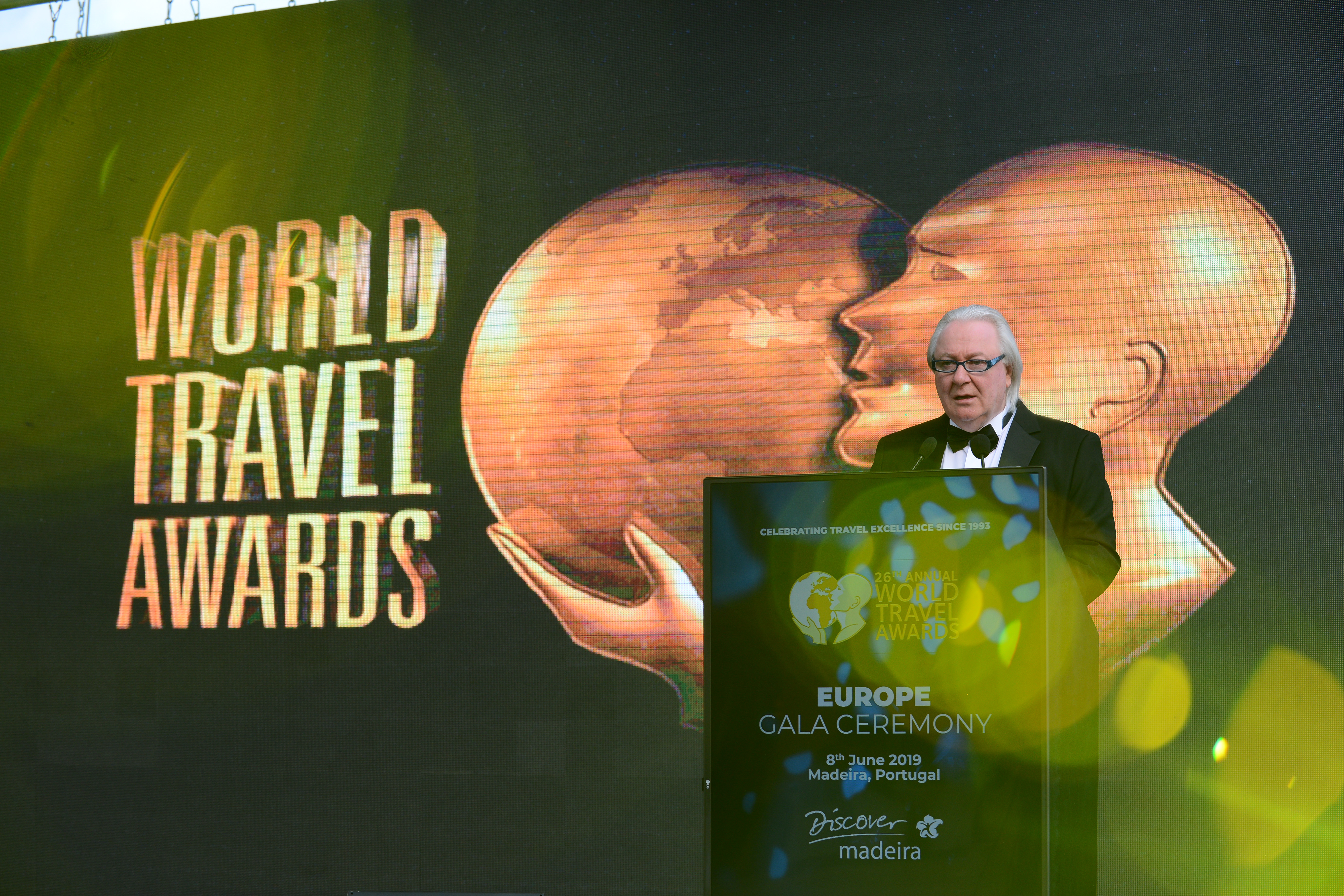 Den europæiske prisuddeling ved World Travel Awards 2019 blev afholdt på den portugisiske ø Madeira. Foto: World Travel Awards