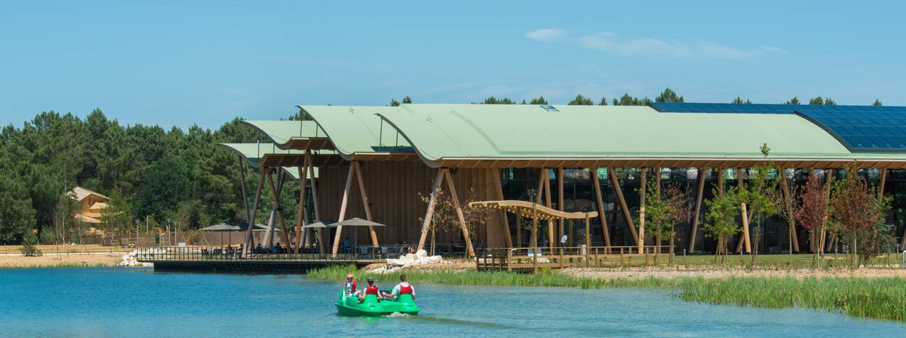 Sådan kan noget af ferieresortet Nordals Resort på nordkysten af Als komme til at se ud. Visualisering: Nordals Resort.