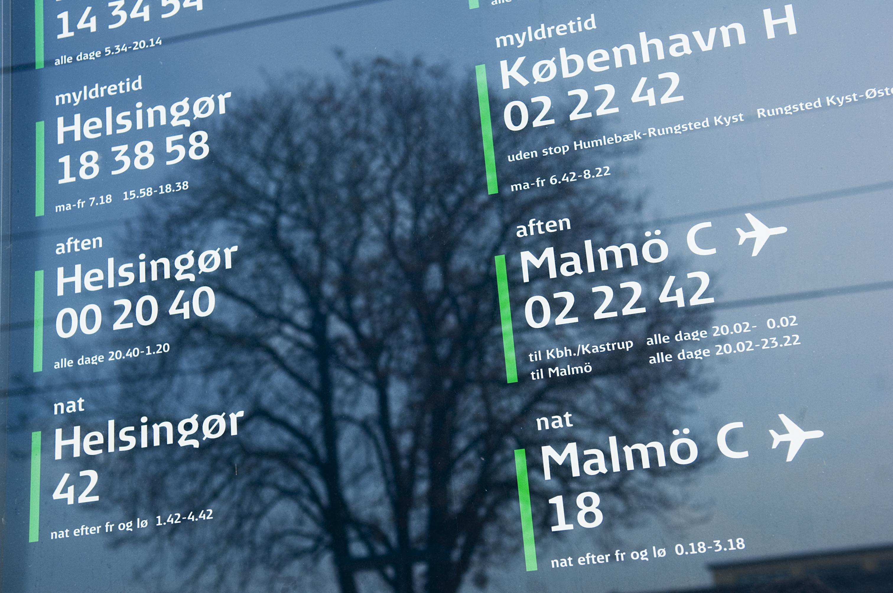 En optimistisk rejsende fra Sønderjylland havde kun afsat syv minutter fra han skulle ankomme med tog til Københavns Lufthavn inden check-in til flyet lukkede. Det gik galt. Pressefoto fra DSB, René Strandbygaard.