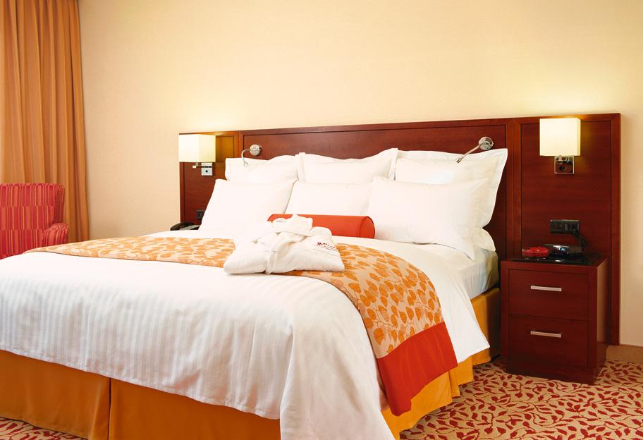 Hoteloplevelsen er meget vigtig for firmarejsende, blandt andet skal hotellet have WiFi og morgenmad, siger ny undersøgelse. Arkivfoto: Henrik Baumgarten.