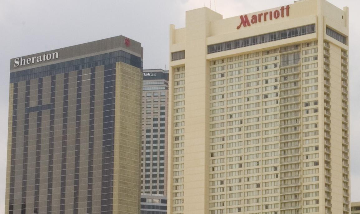 Marriott International står til bøde på 831 millioner kroner for mangelfuld beskyttelse af data i forbindelse med forhandlingerne om overtagelse af blandt andet Sheraton. Marriott-gruppen har 30 varemærker og over 7.000 hoteller i 131 lande og territorier. Foto: Henrik Baumgarten.