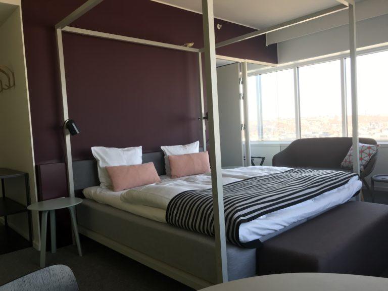 Comwell scorede højt i præference hos danskere, der snart skal booke et privat hotelværelse. Her er det fra Comwell-hotellet i Aarhus. Foto: Ole Kirchert Christensen.