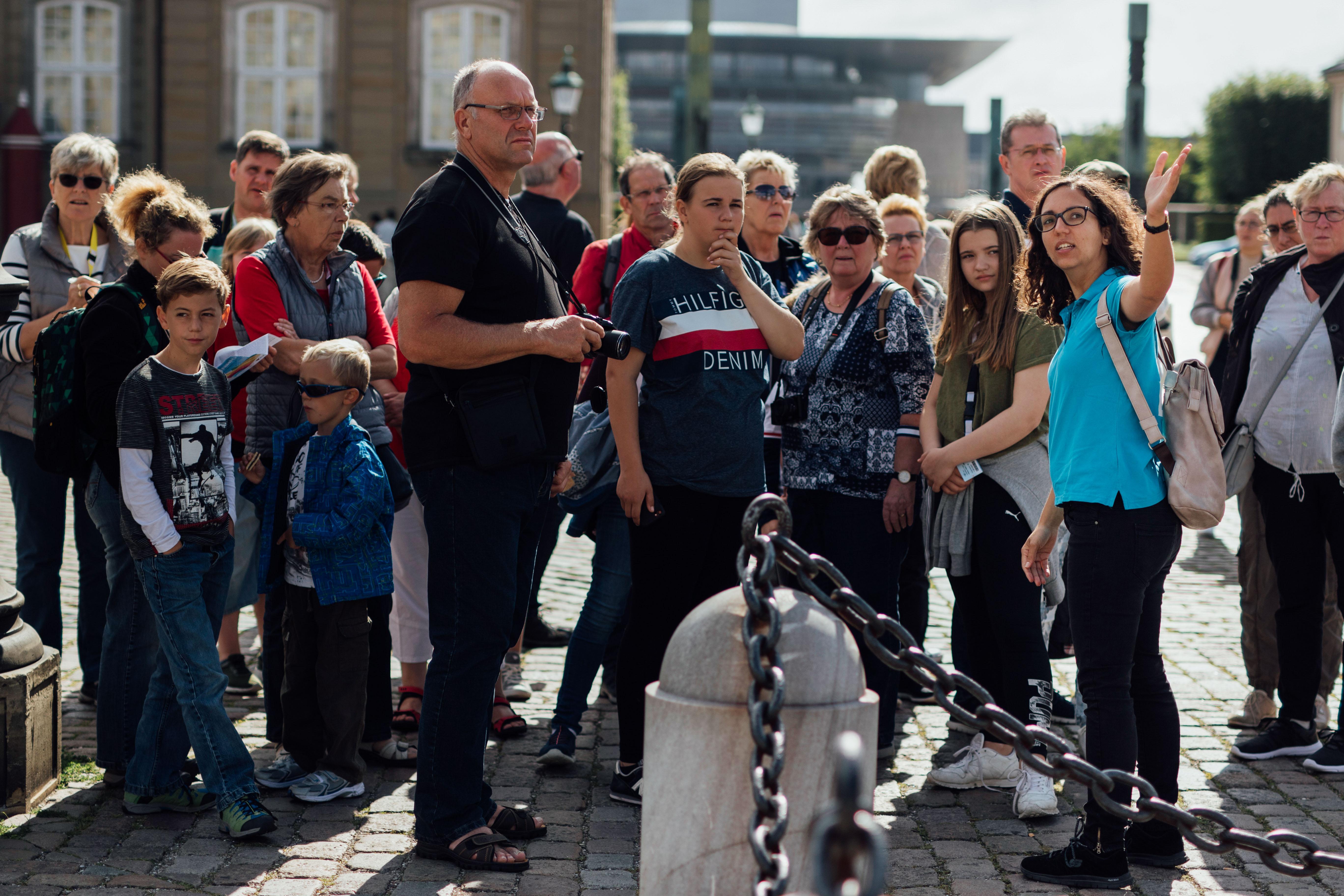Turister i København. Pressefoto fra det københavnske kongres- og eventbureau BDP. Foto Zevegraf IVS.