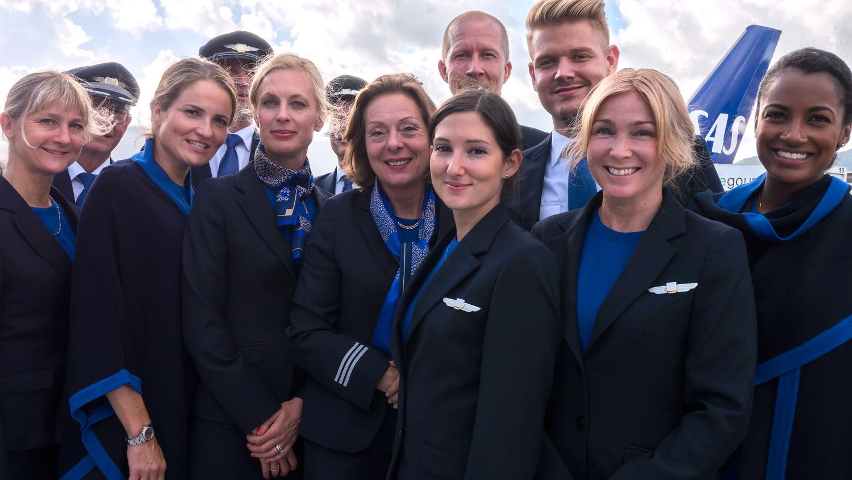 De 3.500 kabineansatte hos SAS i Danmark, Norge og Sverige får fra november ny chef – hentet fra toppost i Norwegian. Arkivpressefoto fra SAS.