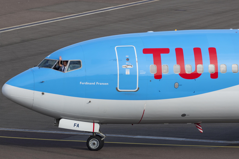 Flyselskaberne i TUI Group har 15 fly, heraf er hvert 10. en Boeing B737 MAX – men de står alle på jorden. (Arkivfoto: © Thorbjørn Brunander Sund, Danish Aviation Photo)