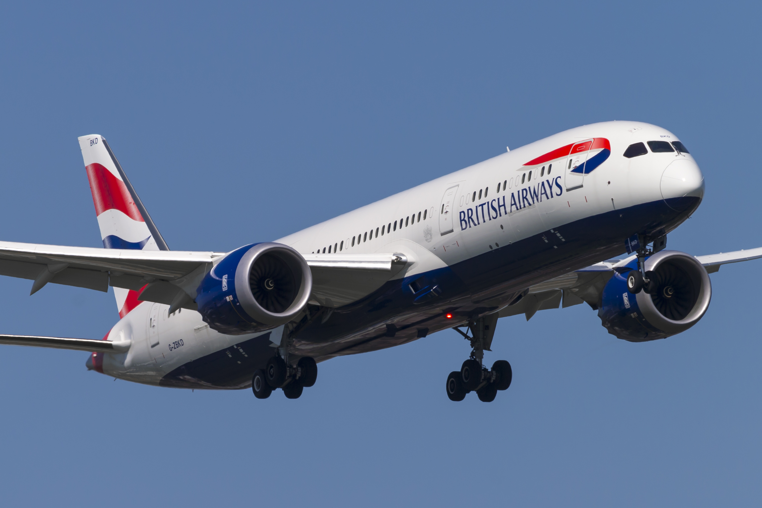 Den danske golfstjerne Thorbjørn Olesen havde ikke nogen heldig flyvning med British Airways fra Nashville til London, hvor BA benytter B787 Dreamliners på rute. (Arkivfoto: © Thorbjørn Brunander Sund, Danish Aviation Photo)