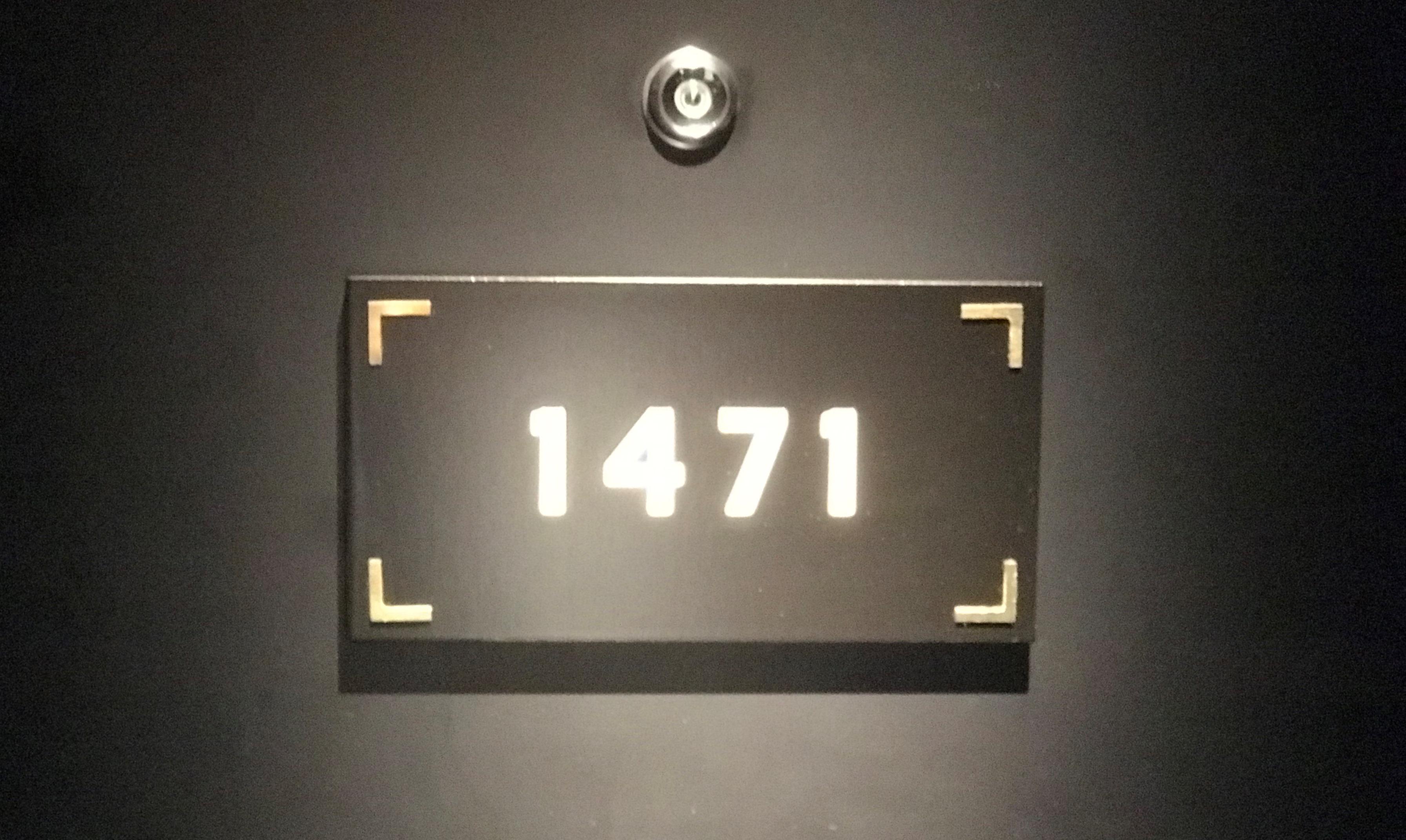 Værelse 1471 er et af de meget små standardværelser på Scandic Falkoner. (Foto: Ole Kirchert Christensen)
