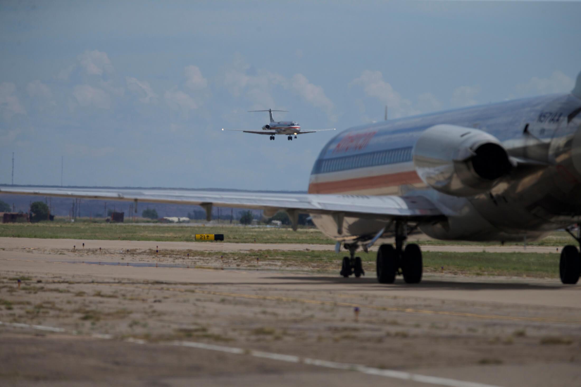 Efter at have fløjet millioner af passagerer gennem årene, har American Airlines nu pensioneret sin sidste MD-80'er. Pressefoto fra American Airlines.