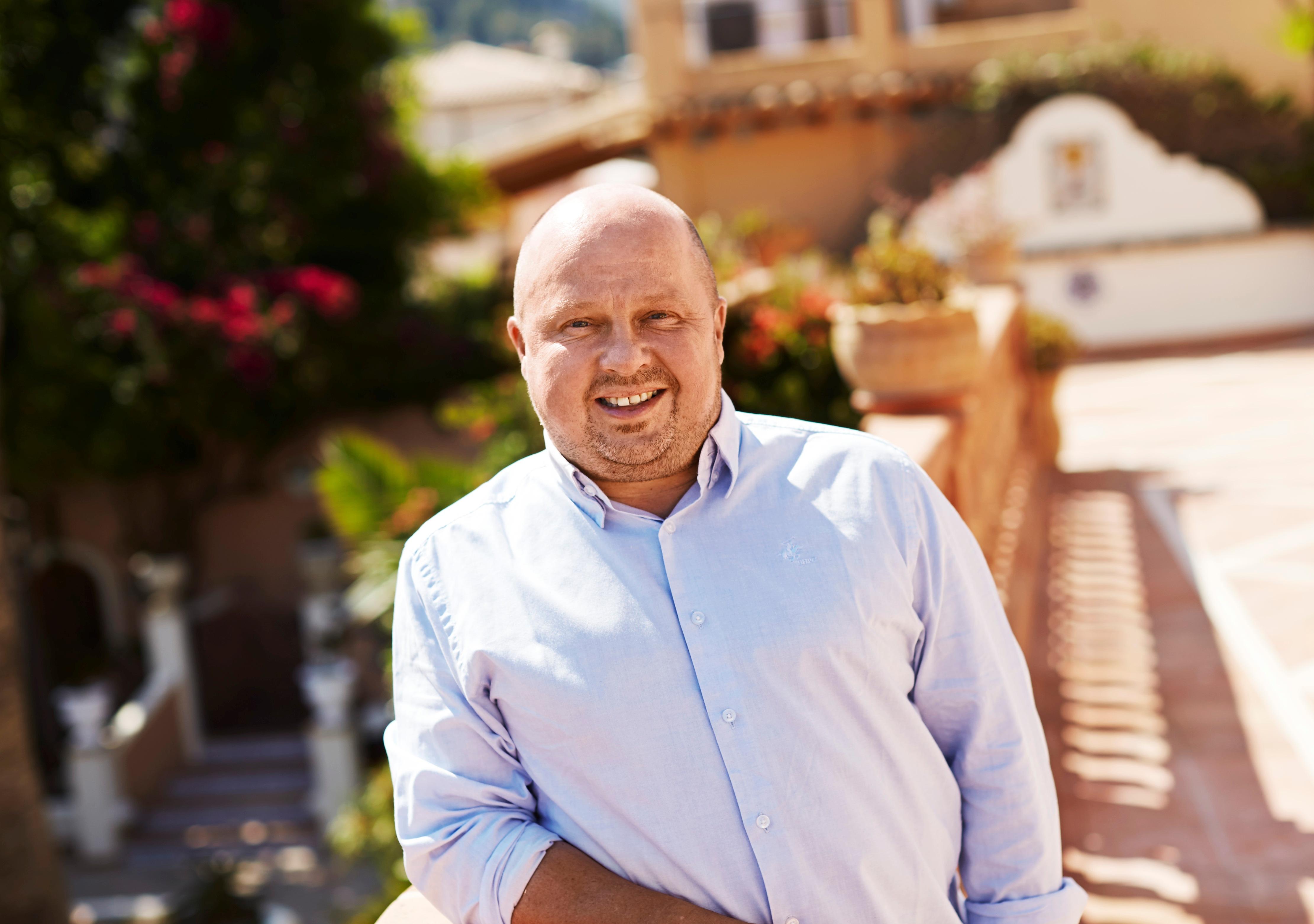 Peder Hornshøj, administrerende direktør for såvel Bravo Tours, som han var med til at grundlægge som for TravelCo Nordic, hvor Bravo Tours er største aktiv. Pressefoto: Bravo Tours.