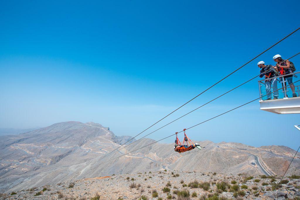 Emiratet Ras Al Khaimah markedsfører sig på blandt andet det skandinaviske marked med et miks af luksushoteller og en mængde muligheder for at kombinere badeferie med adventure-muligheder. Pressefoto fra Ras Al Khaimah Tourism Development Authority.