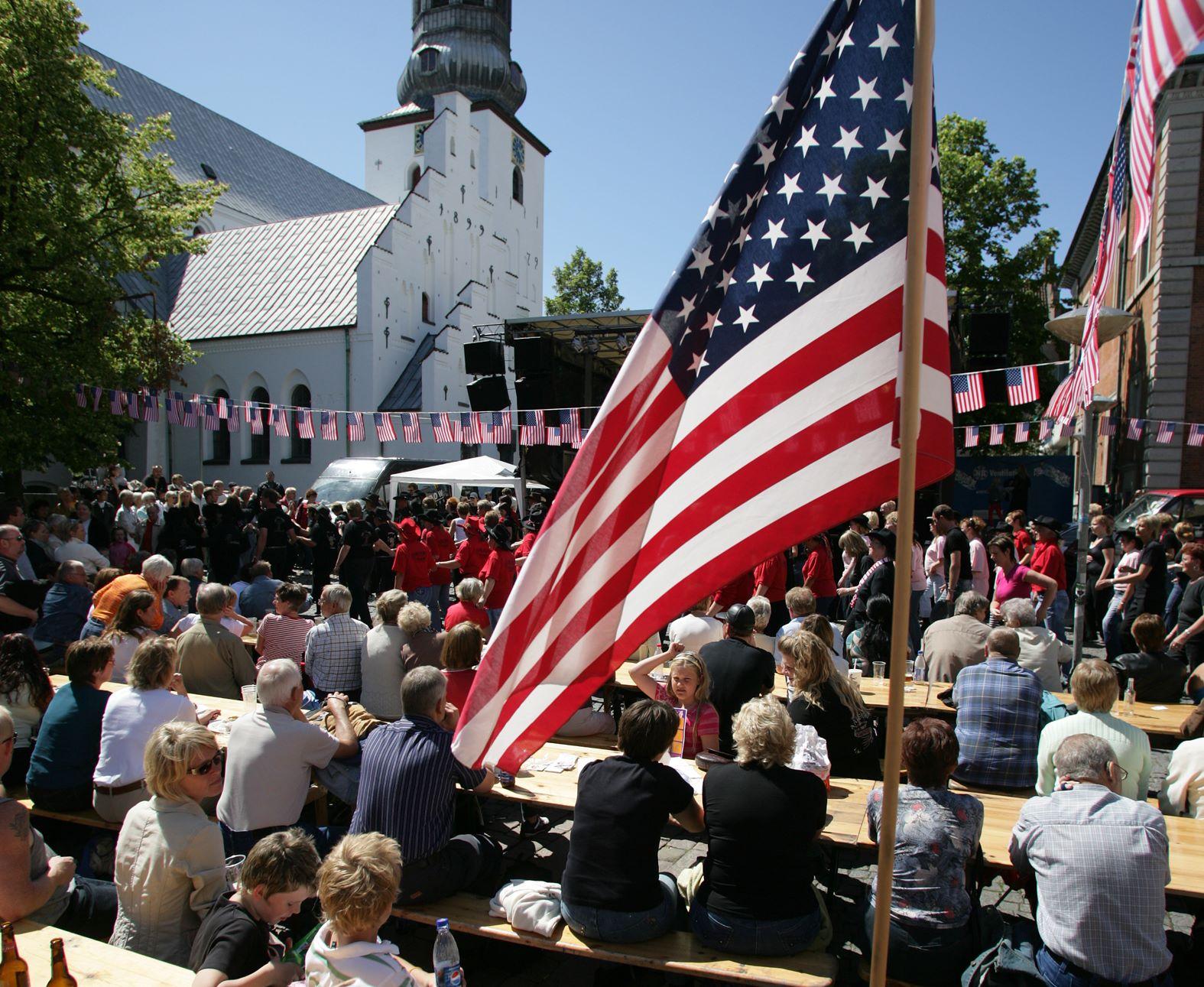 Nyt initiativ skal få flere nordamerikanere til Nordjylland, der blandt andet har Rebild Bakker syd for Aalborg og kendt for den årlige festlighed i forbindelse med USA's uafhængighedsdag, 4. juli. Pressefoto: VisitAalborg.