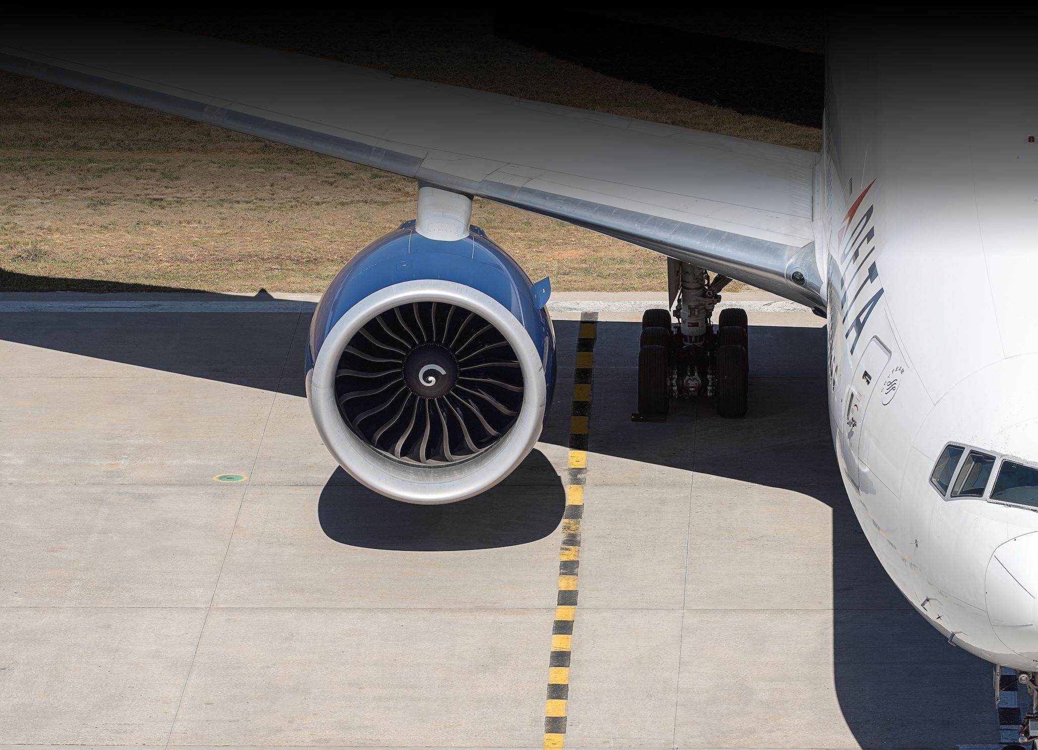 Delta Air Lines bruger blandt andet Boeing B777 på sine langruter til Europa. Pressefoto: Delta Air Lines.