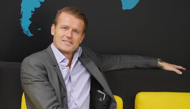 Johan Wilson bliver senere på måneden ny nordisk chef for American Express Global Business Travel, der i daglig tale både kaldes Amex og GBT.  Arkivpressefoto fra CWT.