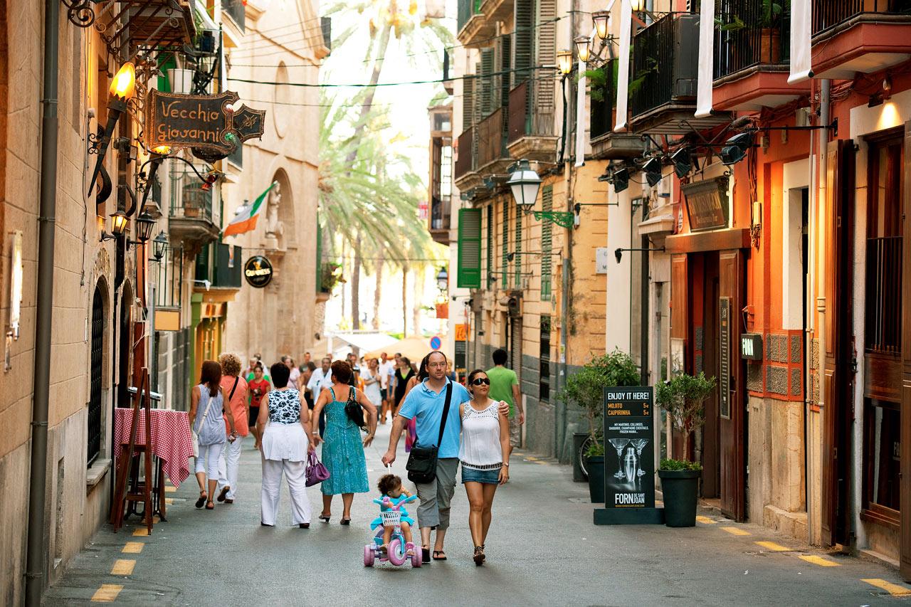 Mallorca er en af de destinationer, som danske turister igen besøger. Arkivfoto: Spies.