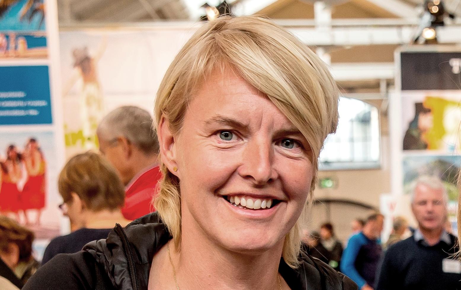 Camilla Andersen, er tidligere håndboldstjerne og i dag adm. direktør og medejer af  Travel Sense. (Foto: Michael Stub)