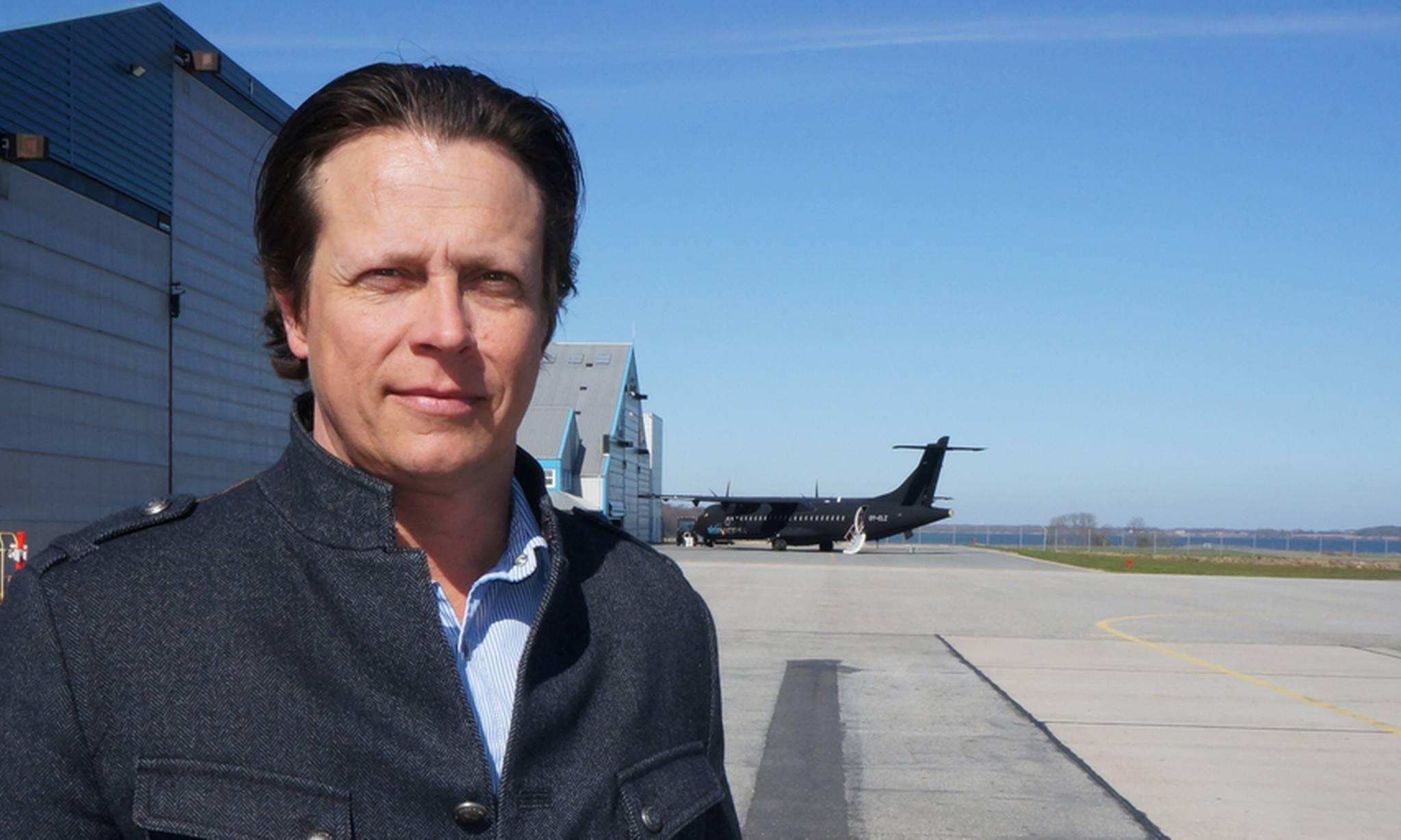 Christian Berg, lufthavnschef i Sønderborg Lufthavn. (Foto: Sønderborg Lufthavn | PR)