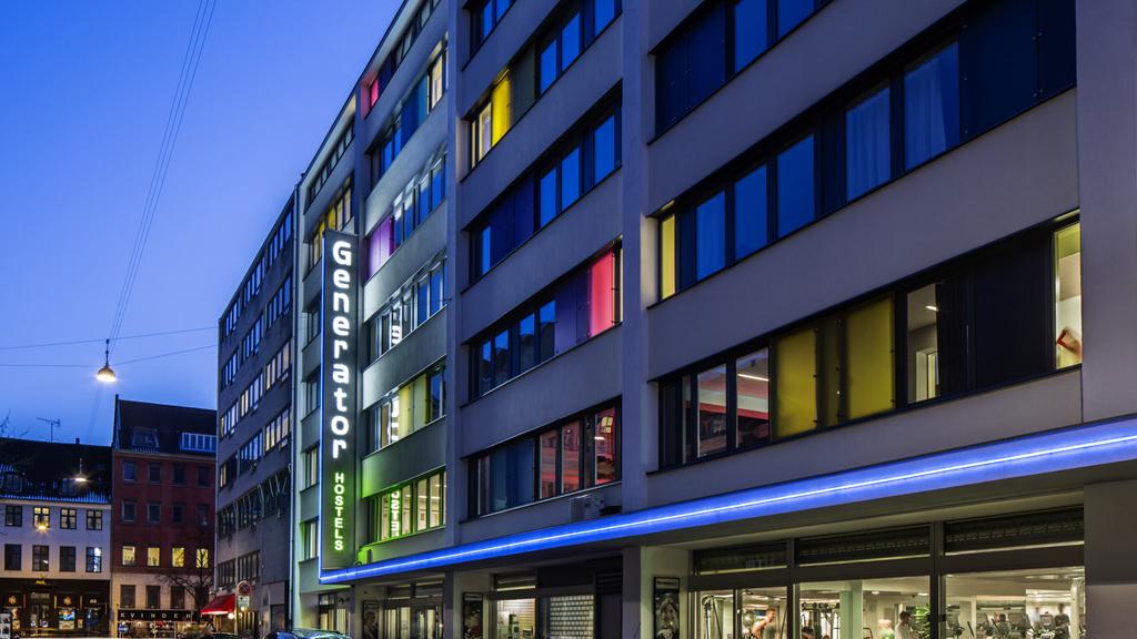 Britiske Generator-hostel har netop købt hostelkæde i USA – her er det Generator Hostel Copenhagen med omkring 660 sengepladser. Pressefoto via Wonderful Copenhagen.