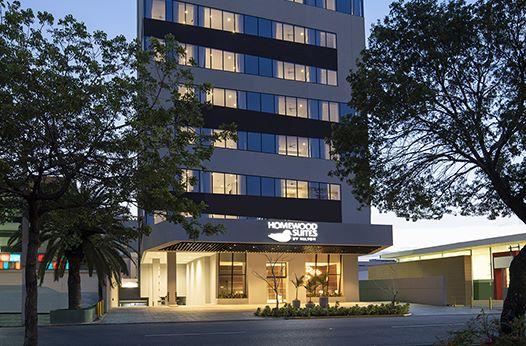 Homewood Suites by Hilton Santo Domingo blev varemærkets hotel nummer 500 – det ligger i hovedstaden Santo Domingo på den caribiske østat Den dominikanske Republik. Foto: Hilton.