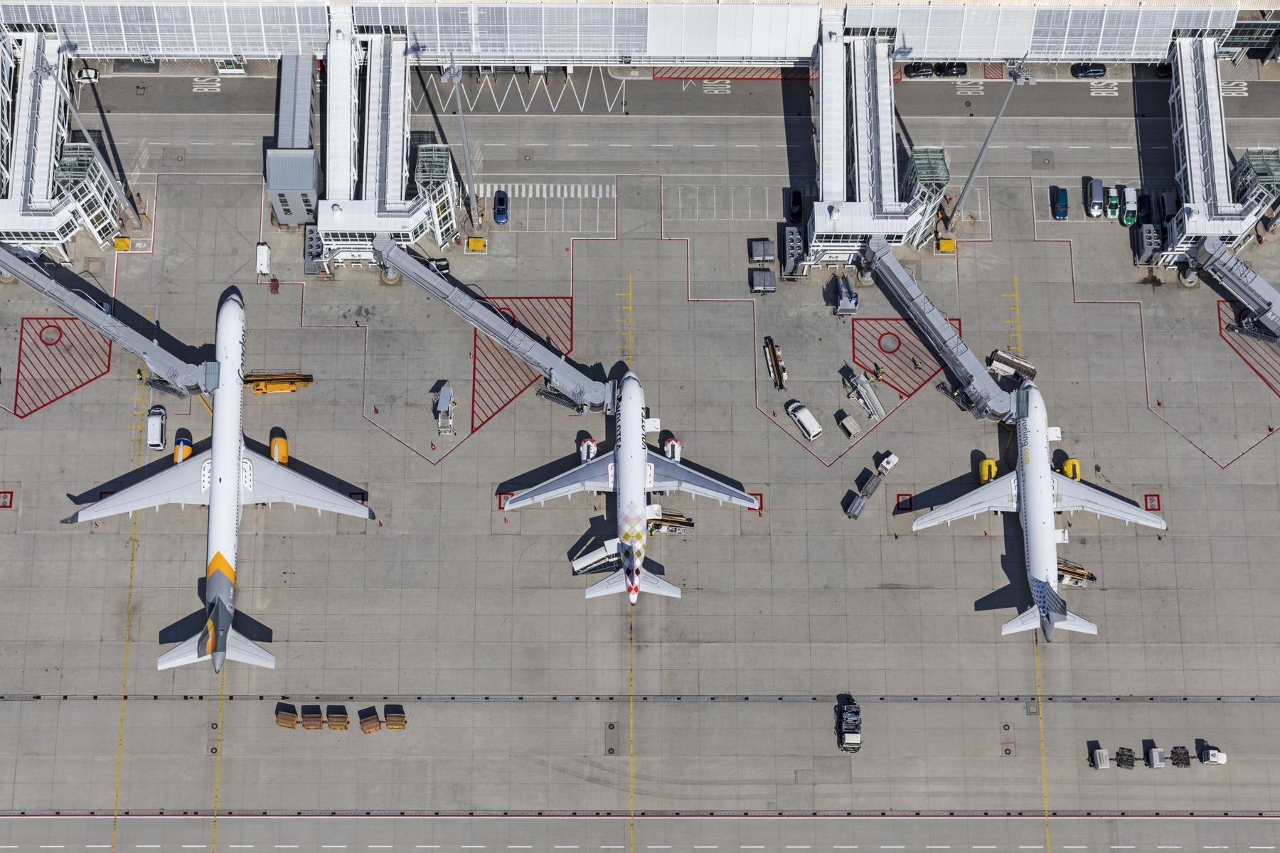 Stadig flere prøver at tage toget – fremfor flyet – på kortere distancer. Pressearkivfoto fra Frankfurt Lufthavn.