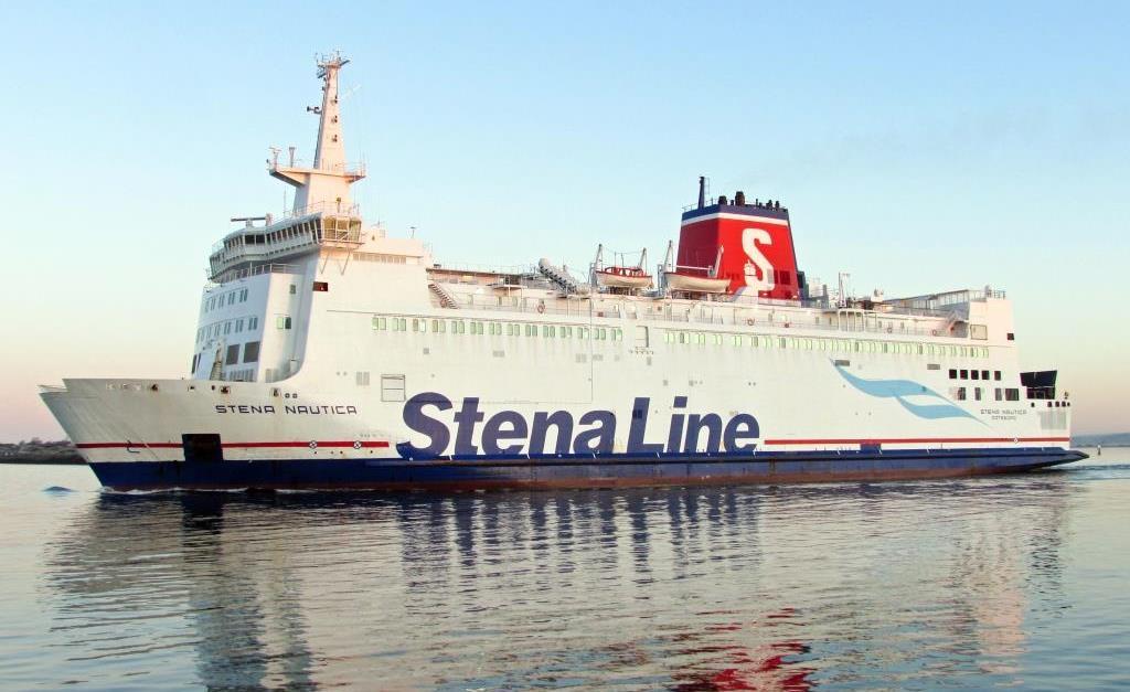 Stena Nauitica skal sejle fra Grenå til Halmstad. (Foto: Stena Line | PR)