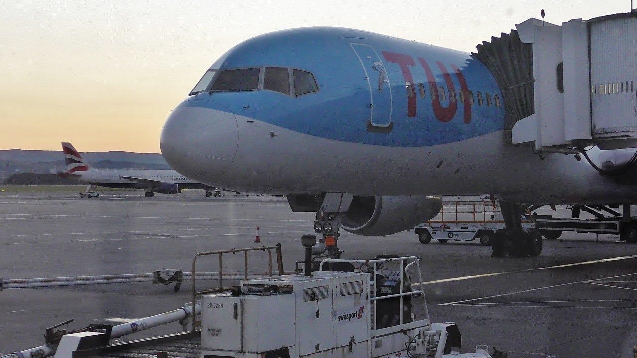 Boeing 757-200 fra TUI Airways. (Foto: Daniel Sander)