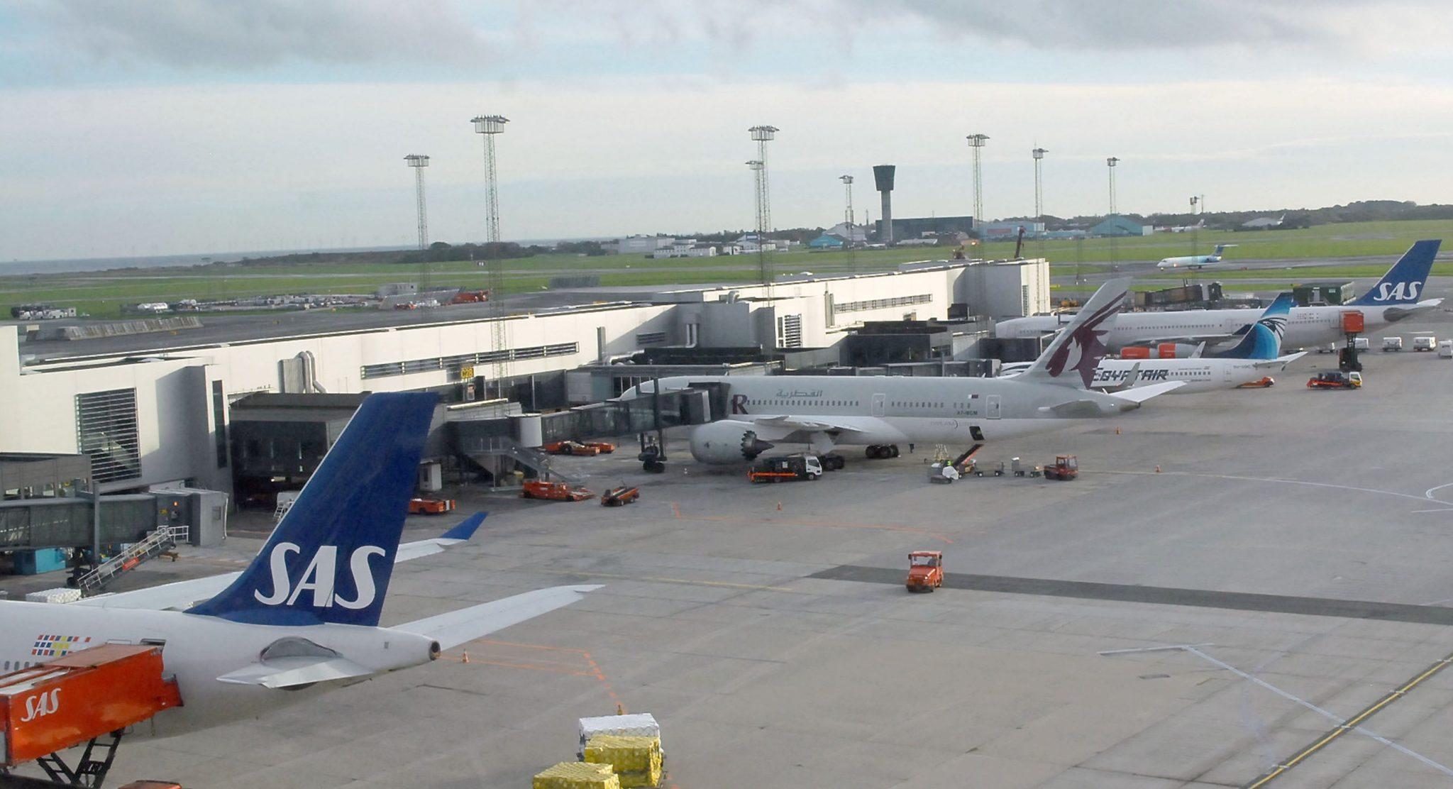 Af tekniske årsager efter konkursen i Spies' moderselskab, Thomas Cook UK, sælger Spies' i øjeblikket næsten ikke billetter med rutefly. Her køber rejsebureauet normalt flest billetter med blandt andre Norwegian, SAS, Emirates og Qatar Airways. Pressefoto fra Københavns Lufthavn.