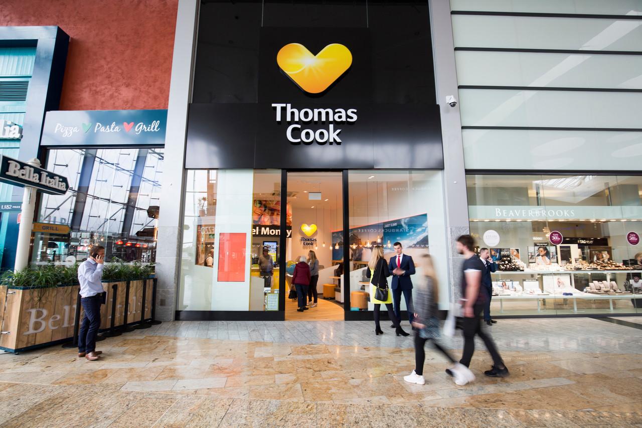 De 555 britiske Thomas Cook-butikker er solgt til Hays Travel, Storbritanniens største selvstændige rejsebureaukæde. Pressefoto: Thomas Cook UK: